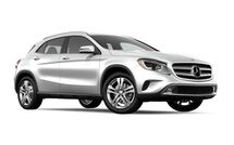 New Mercedes-Benz GLA-Class at Indianapolis