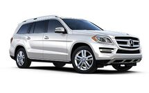 New Mercedes-Benz GL-Class at Wilmington