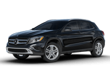 New Mercedes-Benz GLA-Class at Bayside