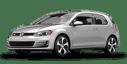 New Volkswagen Golf GTI at Chicago