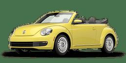 New Volkswagen Beetle Convertible at Chicago