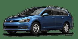 New Volkswagen Golf SportWagen at Chicago