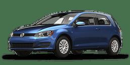 New Volkswagen Golf at Chicago