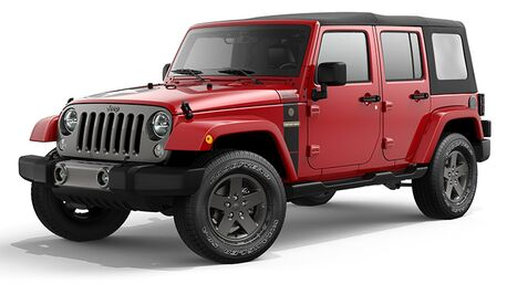 New Jeep Wrangler Unlimited in Spring