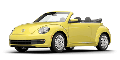 New Volkswagen Beetle Convertible in Miami