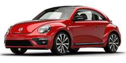 New Volkswagen Beetle in Santa Barbara