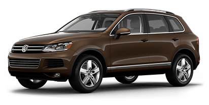 New Volkswagen Touareg in Mission