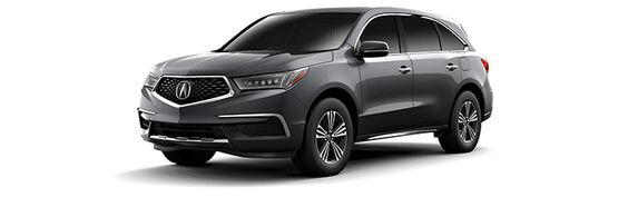 New Acura MDX in Edmonton