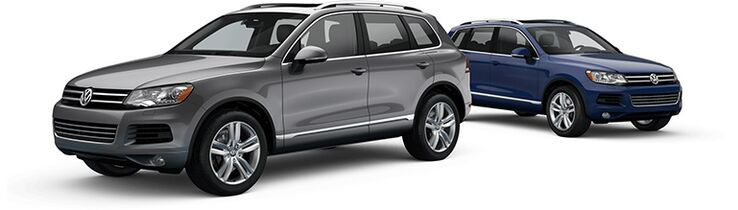 New Volkswagen Touareg near Pittsfield