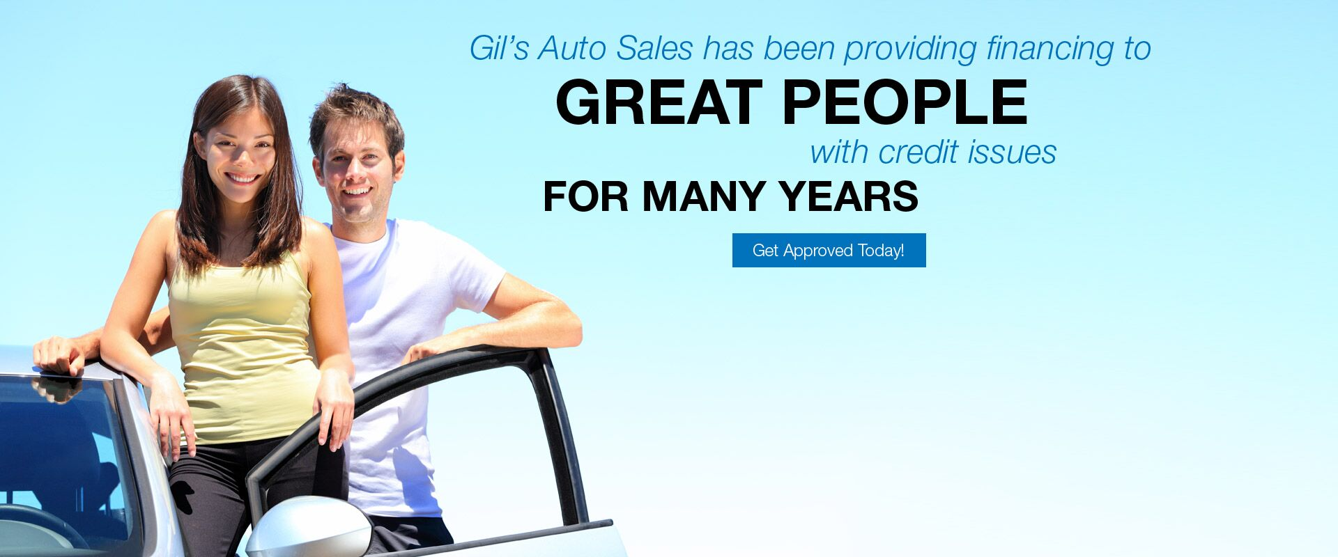 Repair your Credit at Gil's Auto