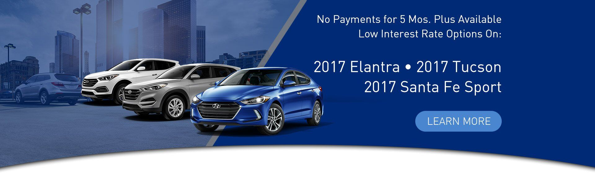2017 Hyundai Sales Event