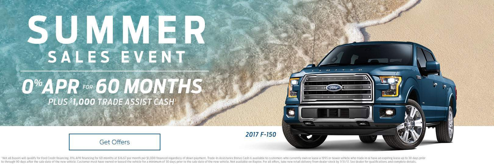 ford f-150 sales event