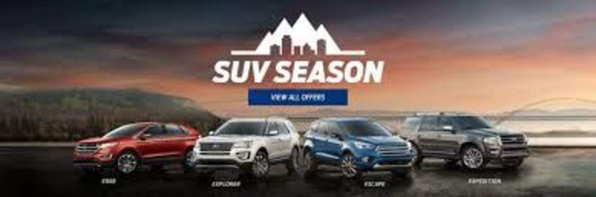 Ford SUV Season