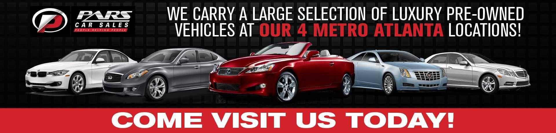 Morrow Used & Pre-Owned Cars | Morrow GA | Pars Car Sales