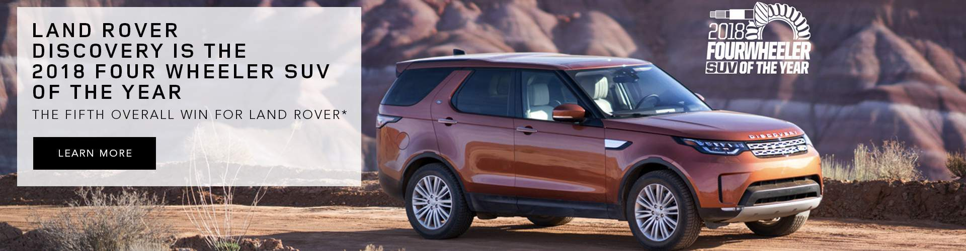 2018 Land Rover Discovery Four Wheeler of the Year