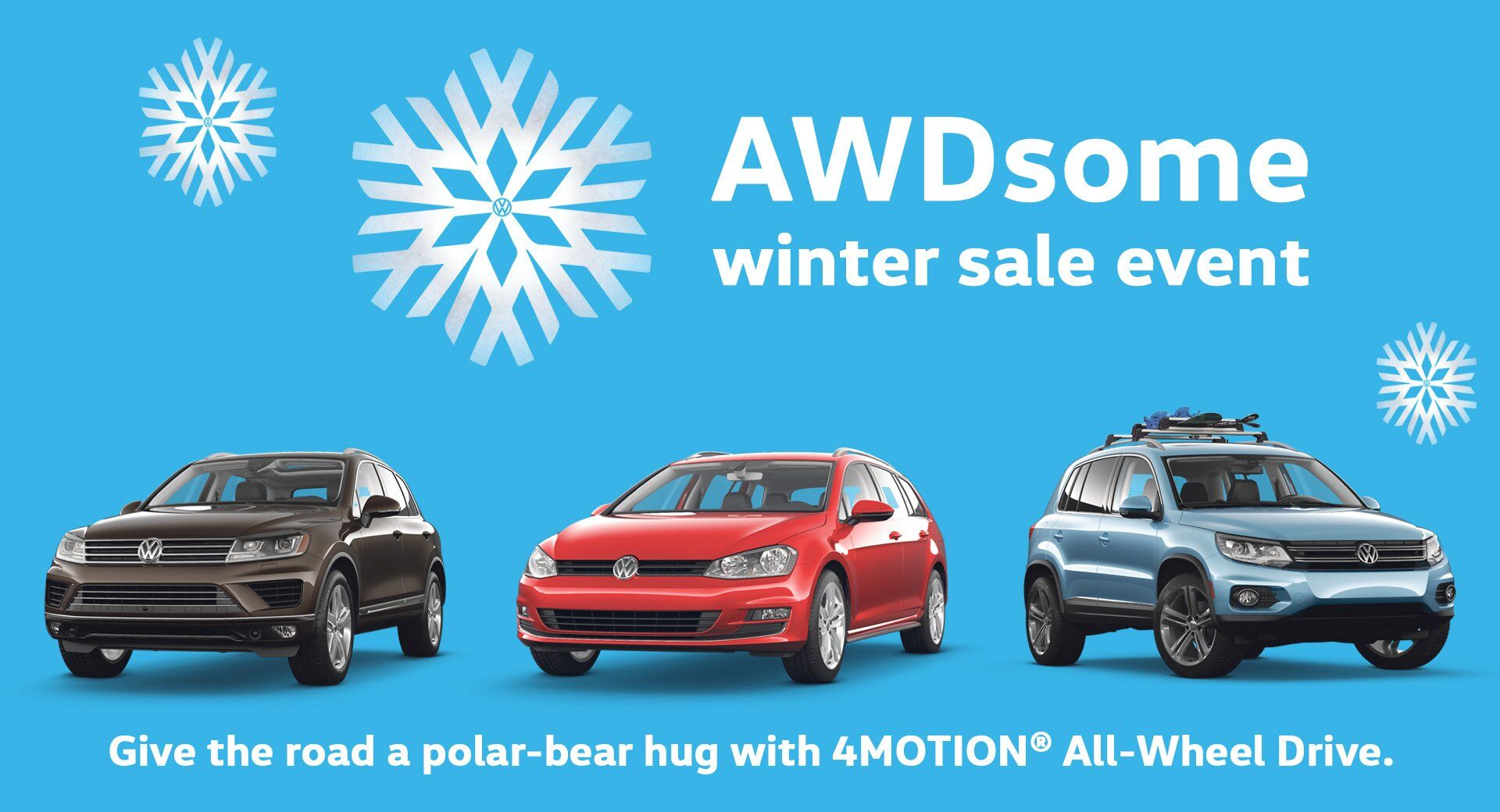 VW AWDsome Winter Sale