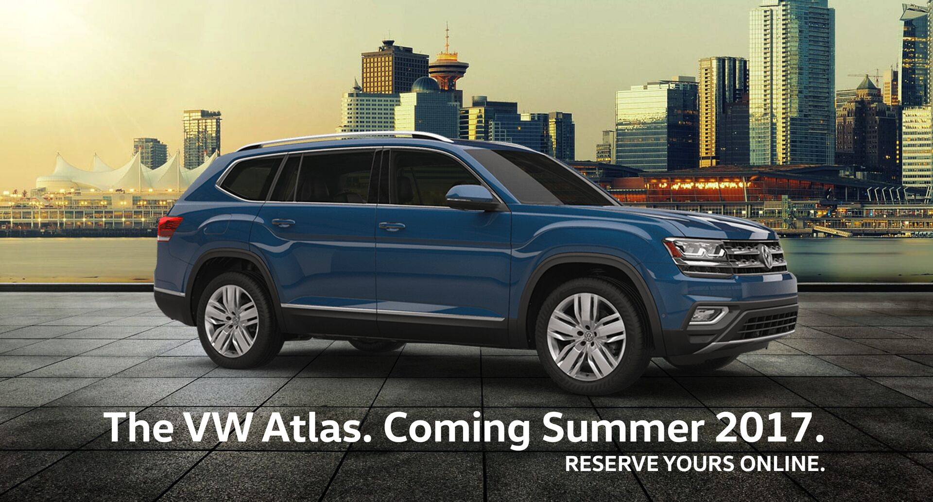 The VW Atlas is coming to Vancouver