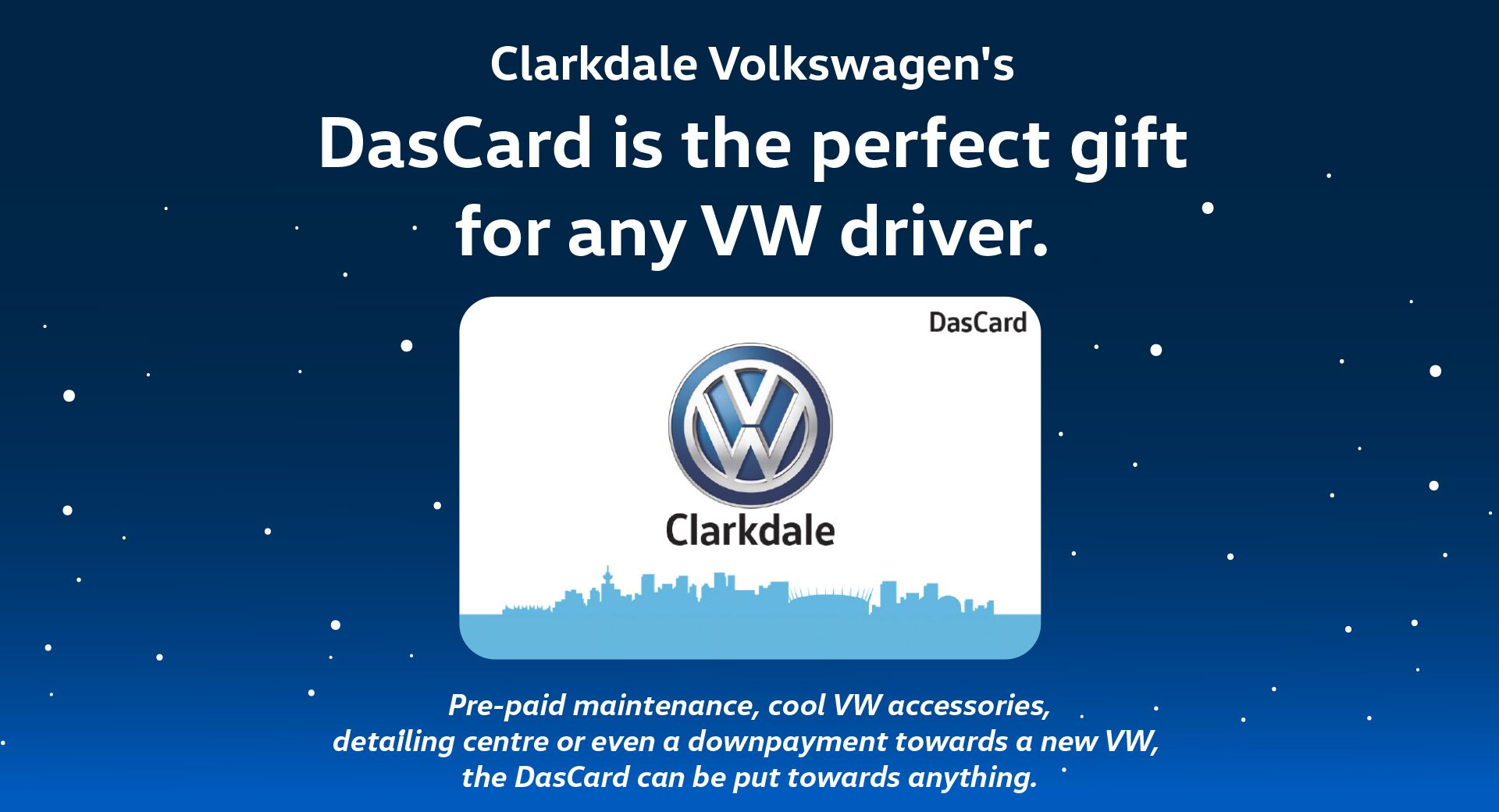 DasCard Holiday Gift For VW Lover