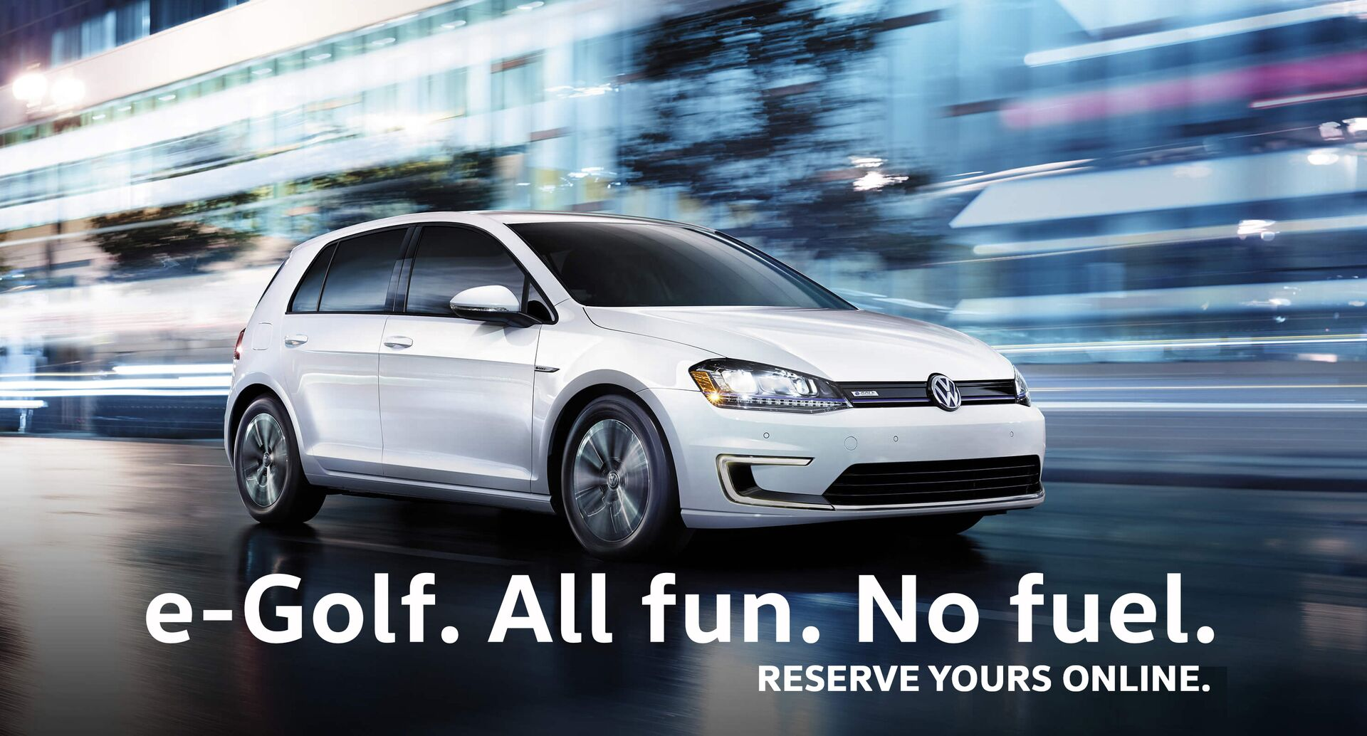 e-Golf is coming to Vancouver