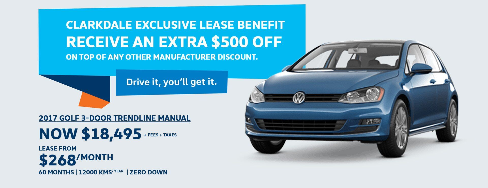 VW GOLF SPECIAL AT CLARKDALE VW