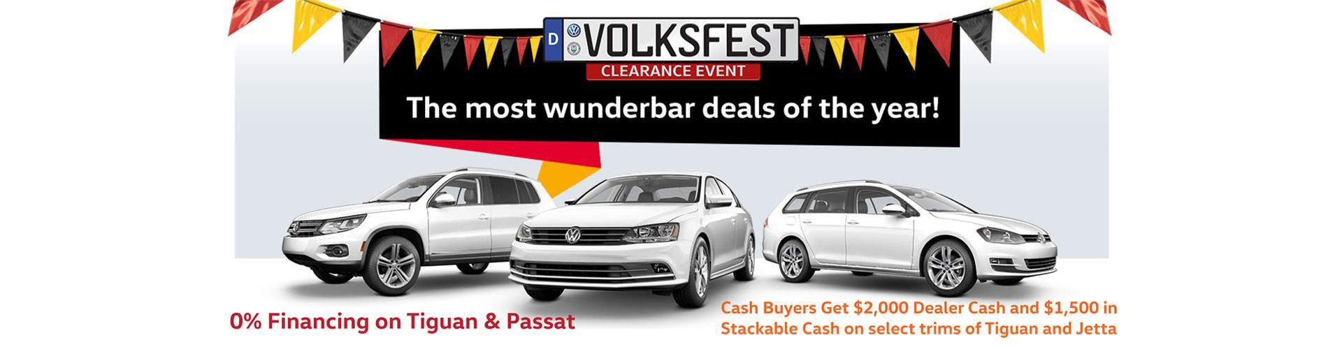Volkfest Clearance Event