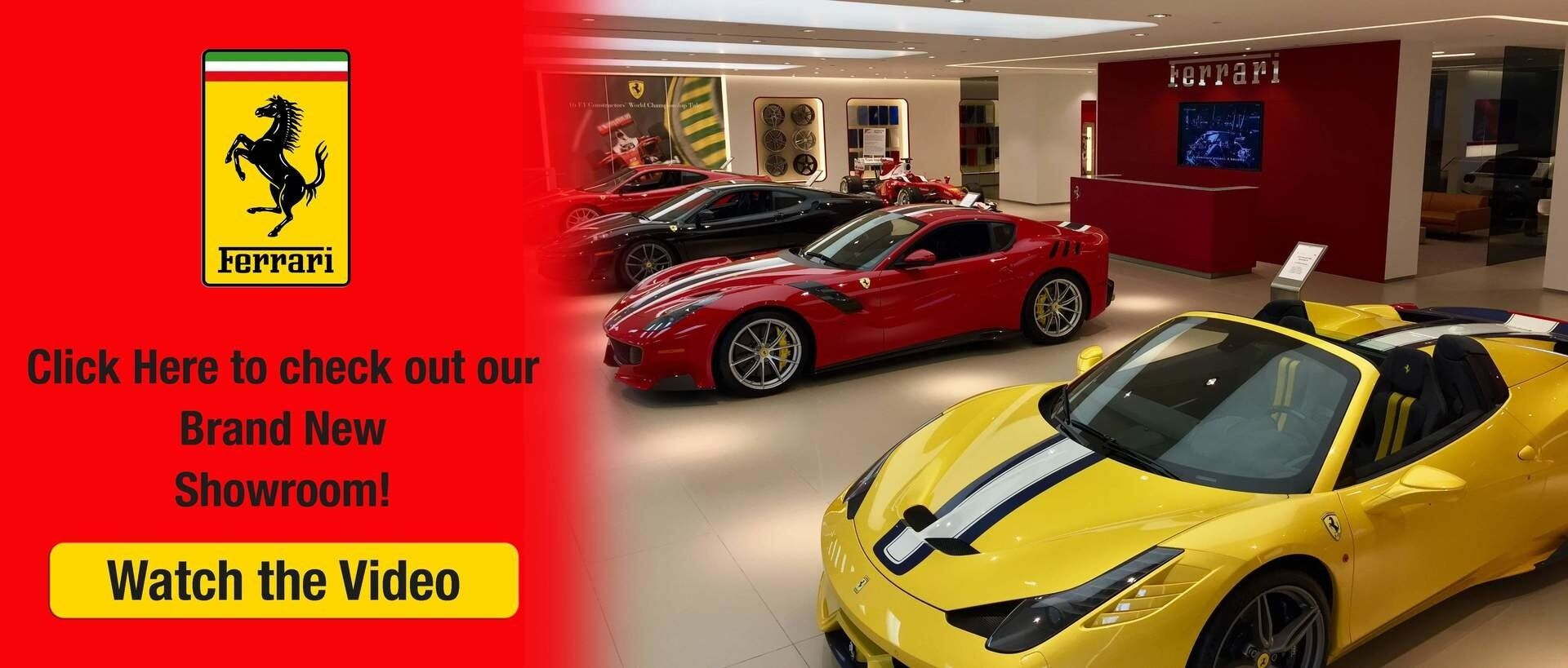 New Ferrari Showroom