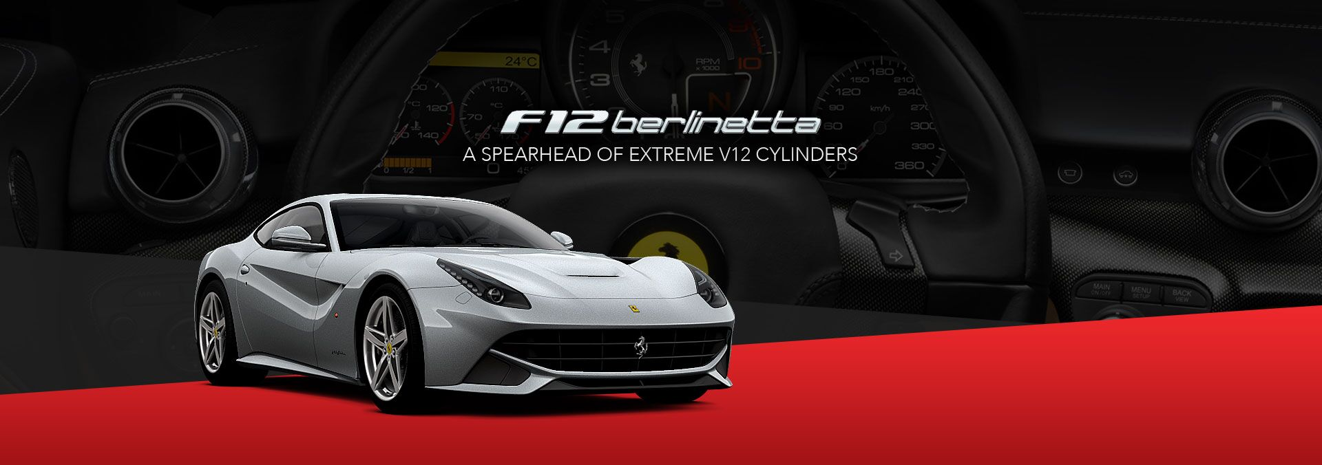 New Ferrari F12 Berlinetta