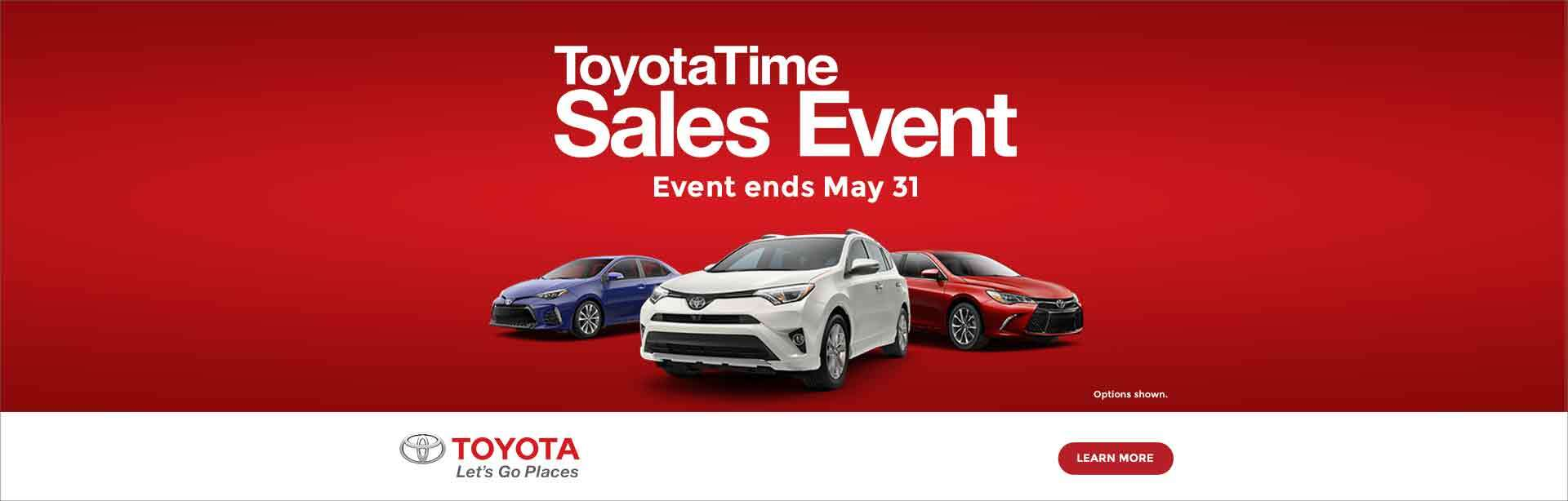 ToyotaTime Sales Event 2017