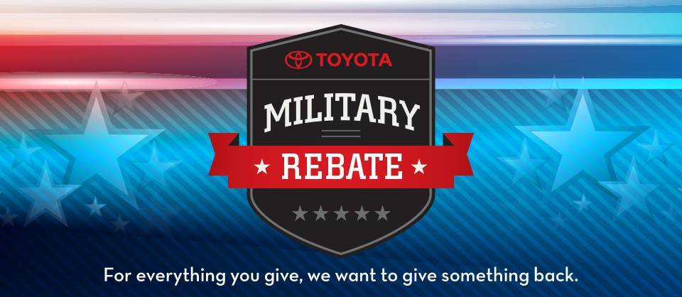 get your Military Discount at Perry Motors Toyota
