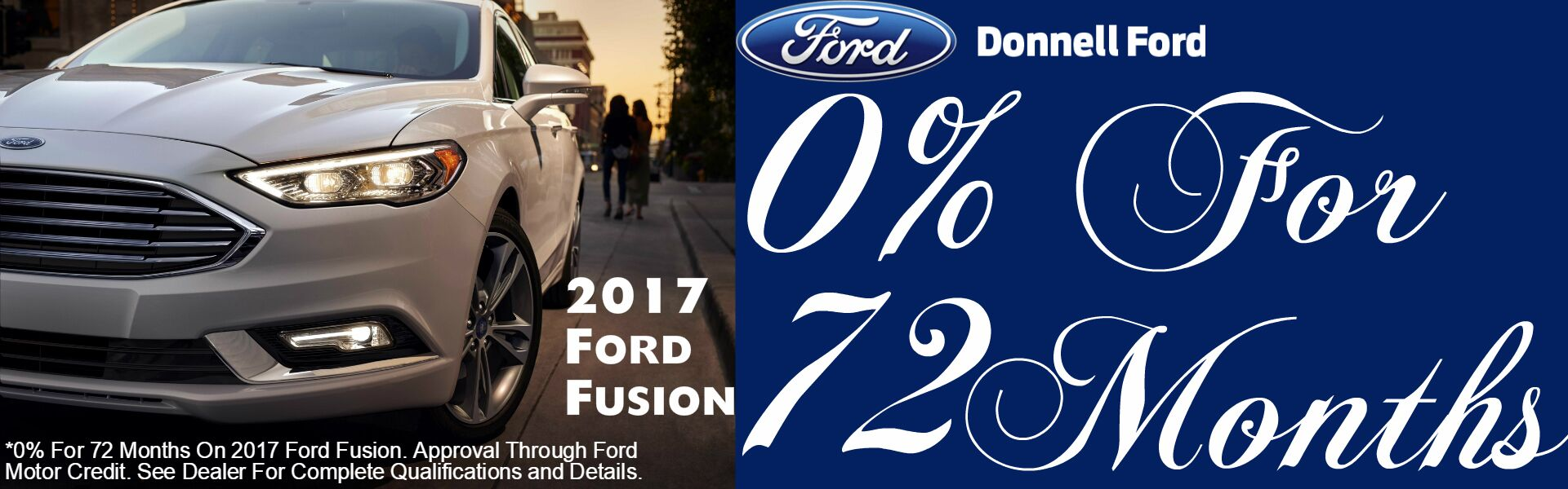 December 2016 Ford Fusion Banner
