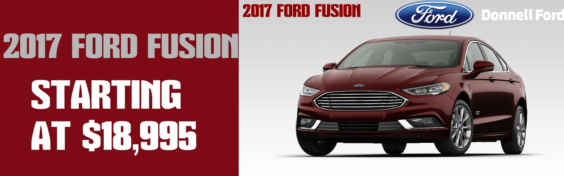 Donnell Ford April 2017 Ford Fusion Message