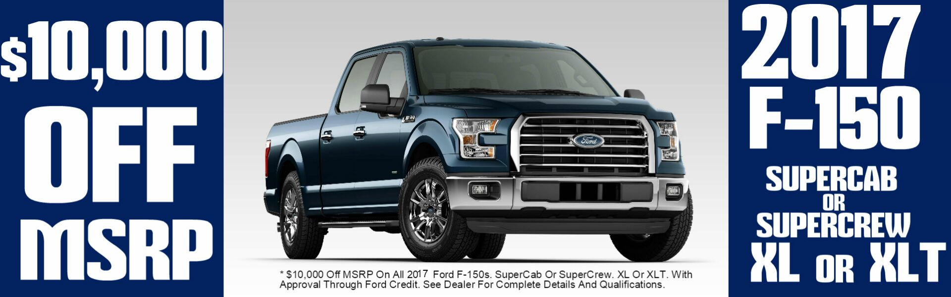 Donnell Ford Banner April 2017 Ford F150 Buy