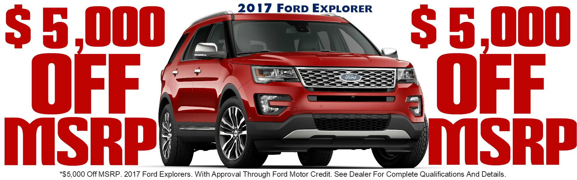 Donnell Ford Banner Ford Explorer Feb. 2017