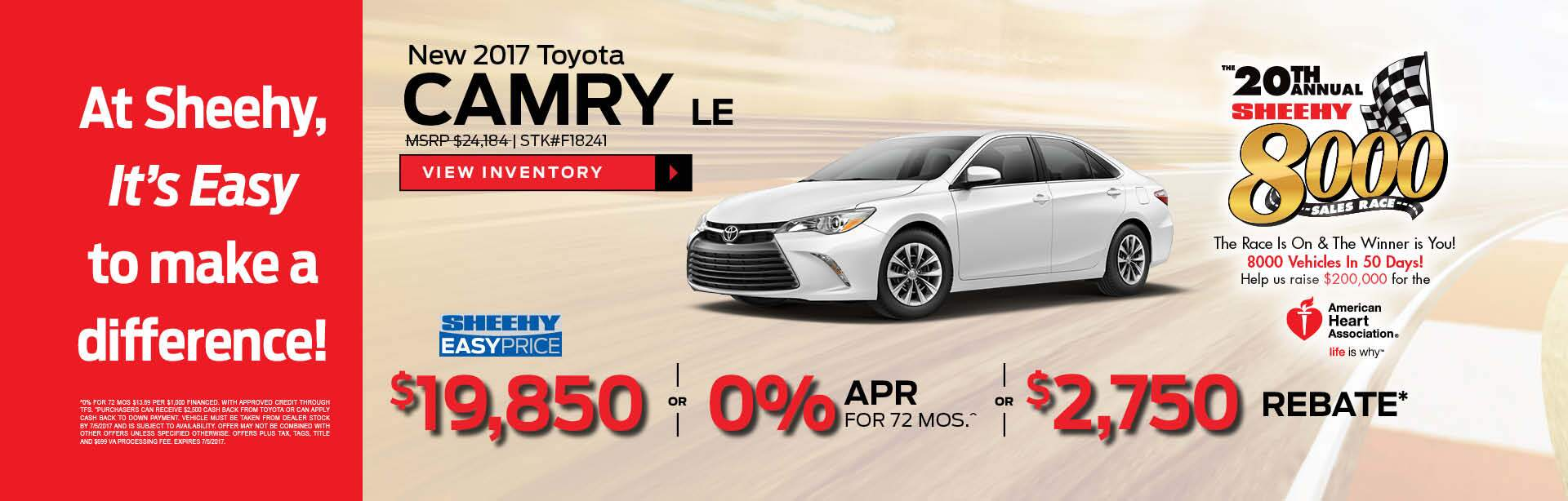 Sheehy Toyota Of Fredericksburg Serving Spotsylvania