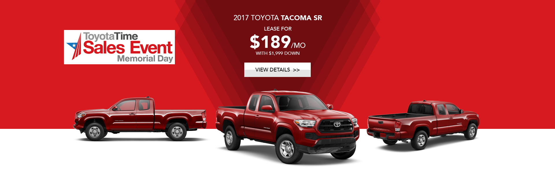 Toyota Tacoma Special Offer