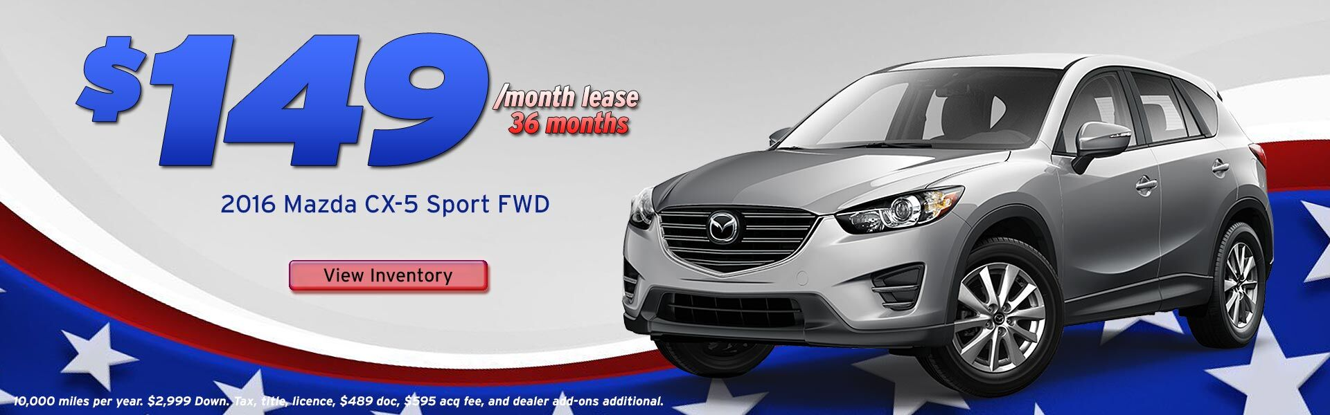 CX-5 Sport Lease