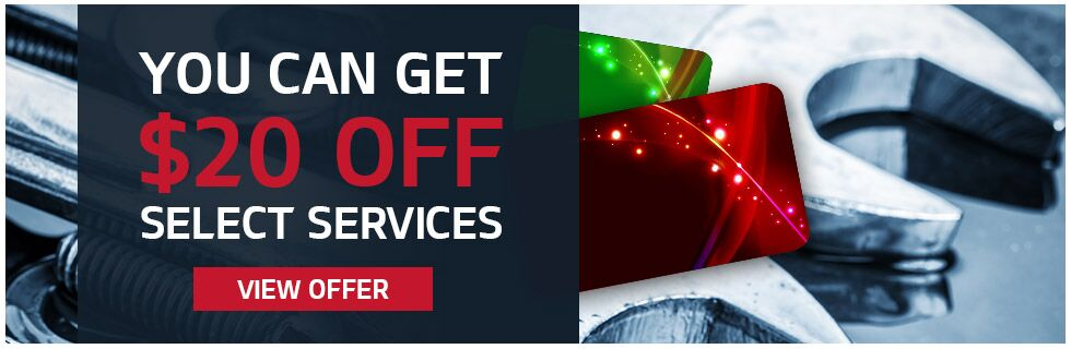 $20 Off Select Services