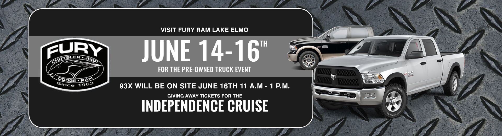 Pre-Owned Truck Event