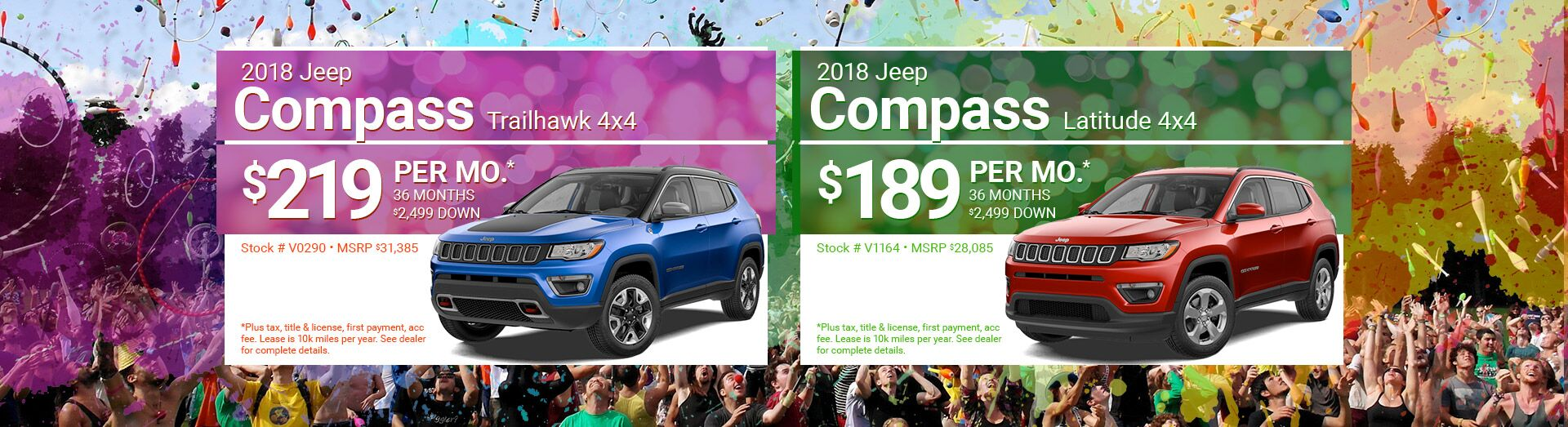 June Lease Jeep Compass
