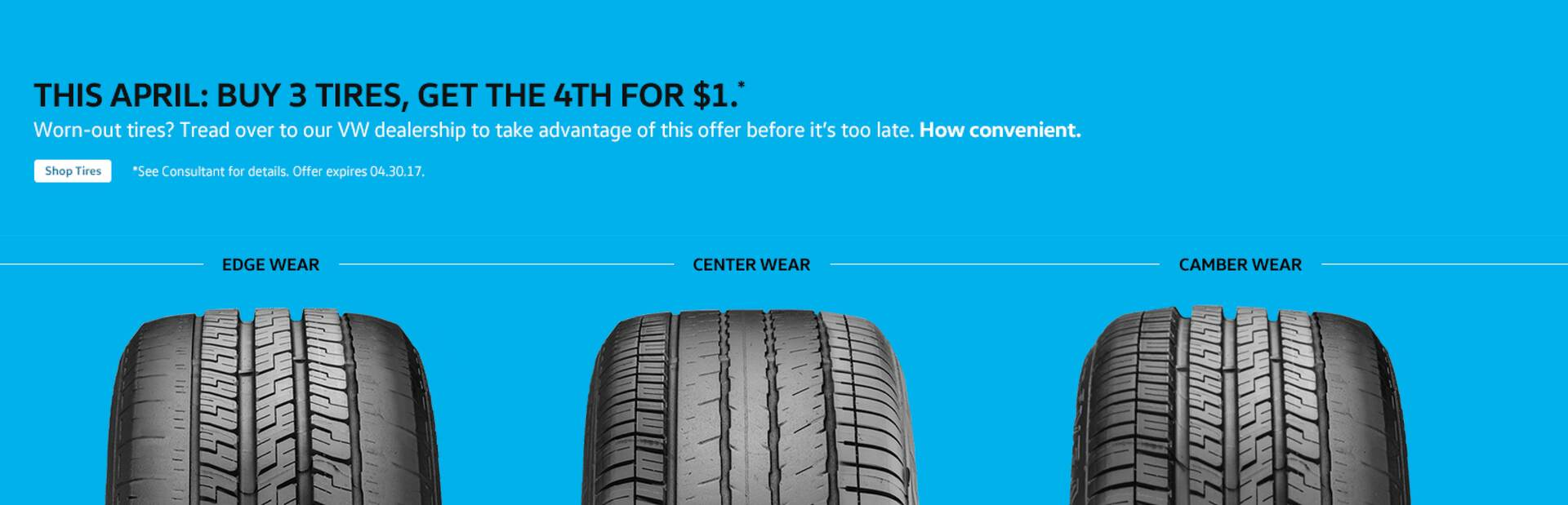 VW Tire Sale