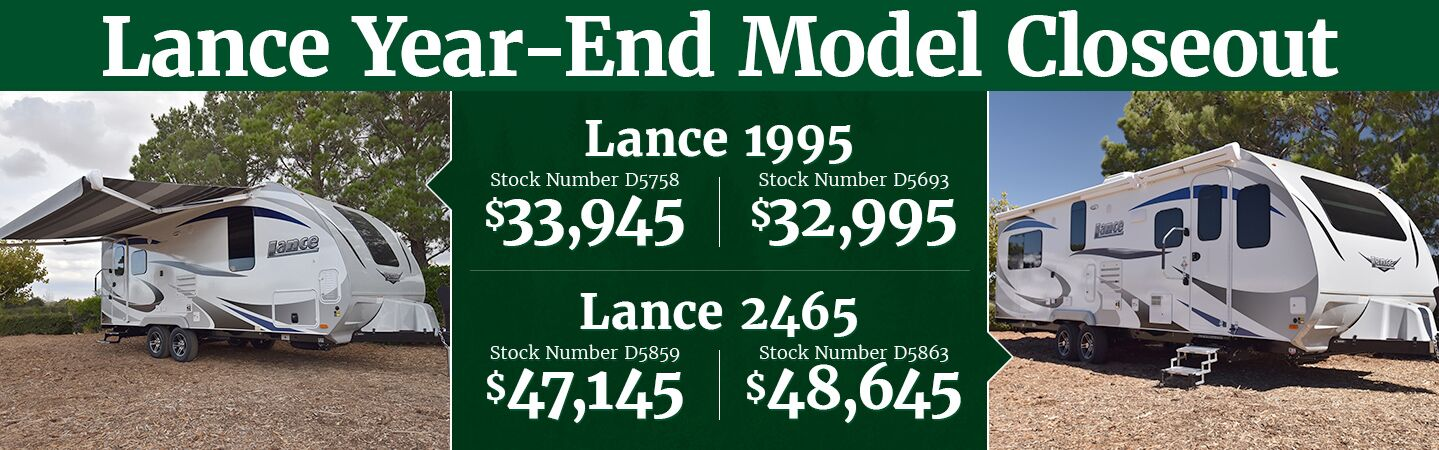 Lance Year-end Closeout
