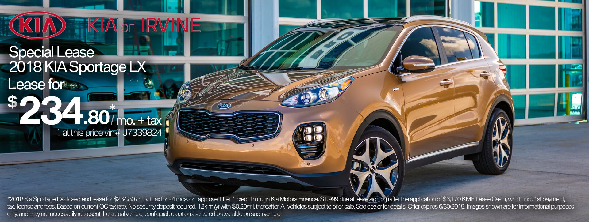2018 Kia Sportage Orange County Kia
