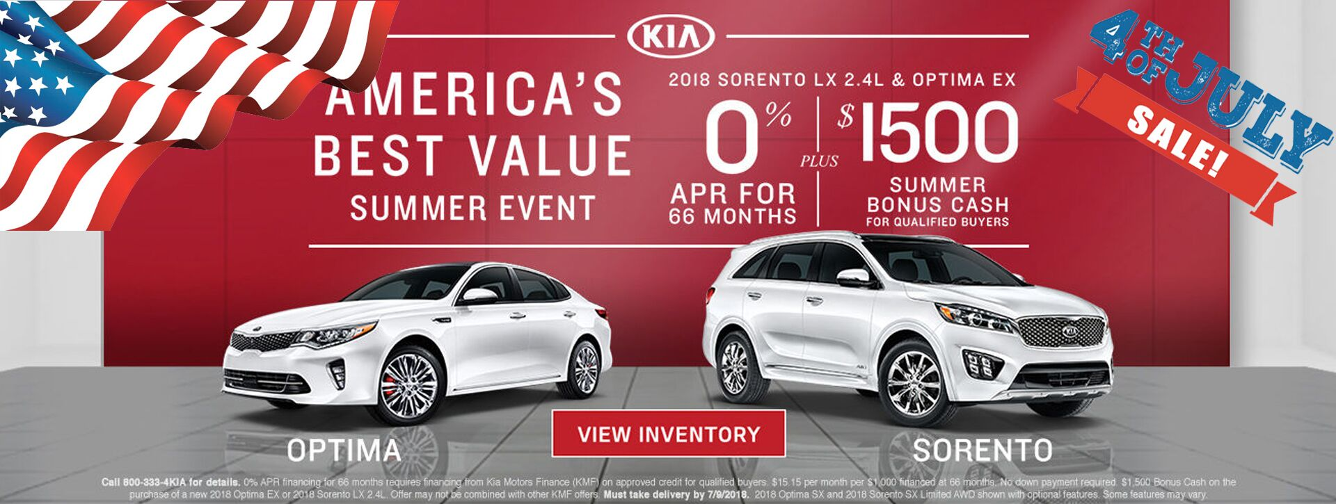 Orange County Kia America's Best Value Summer Event at Kia of Irvine