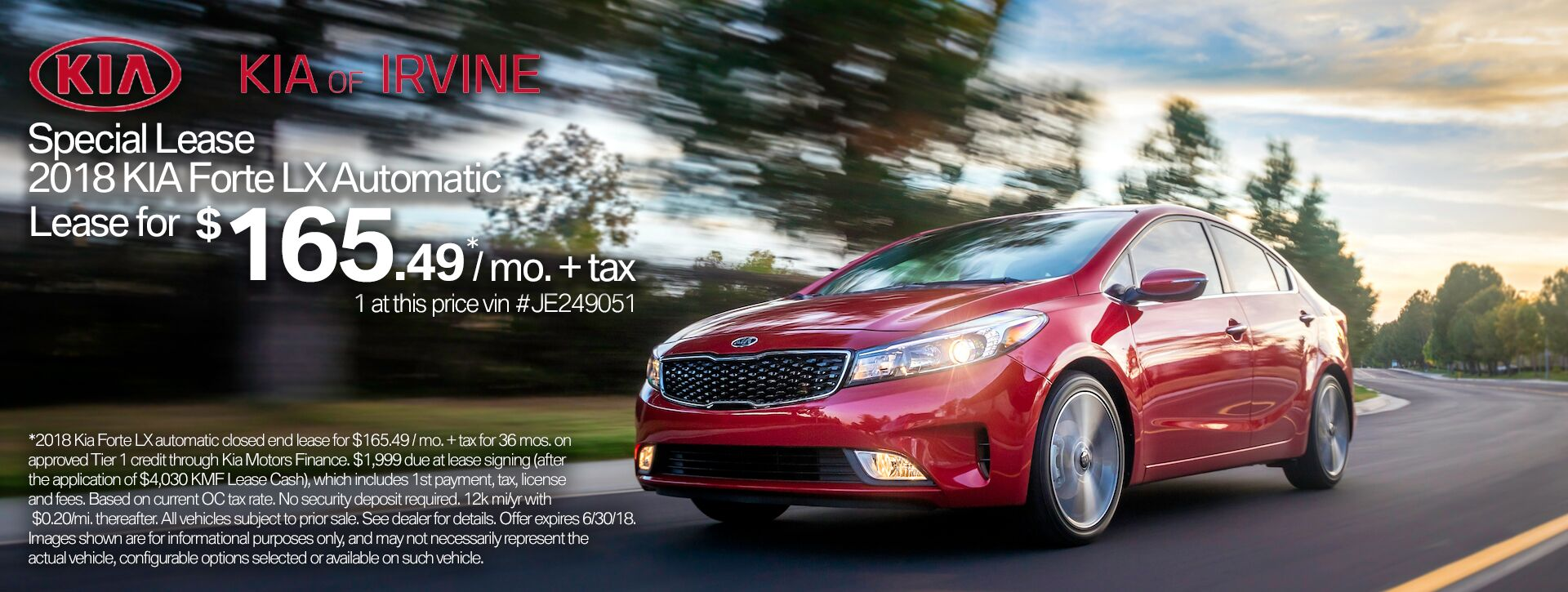2018 Kia Forte Lx Orange County KIA