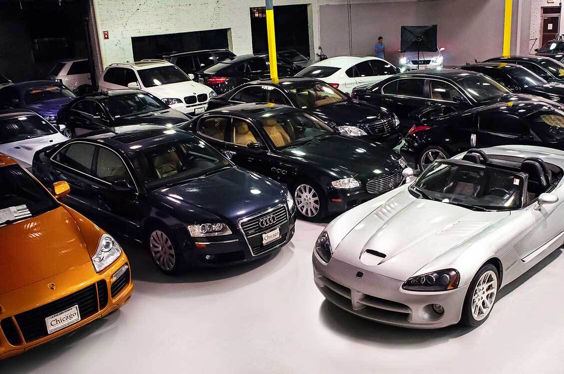 Greater Chicago Motors Car Showroom