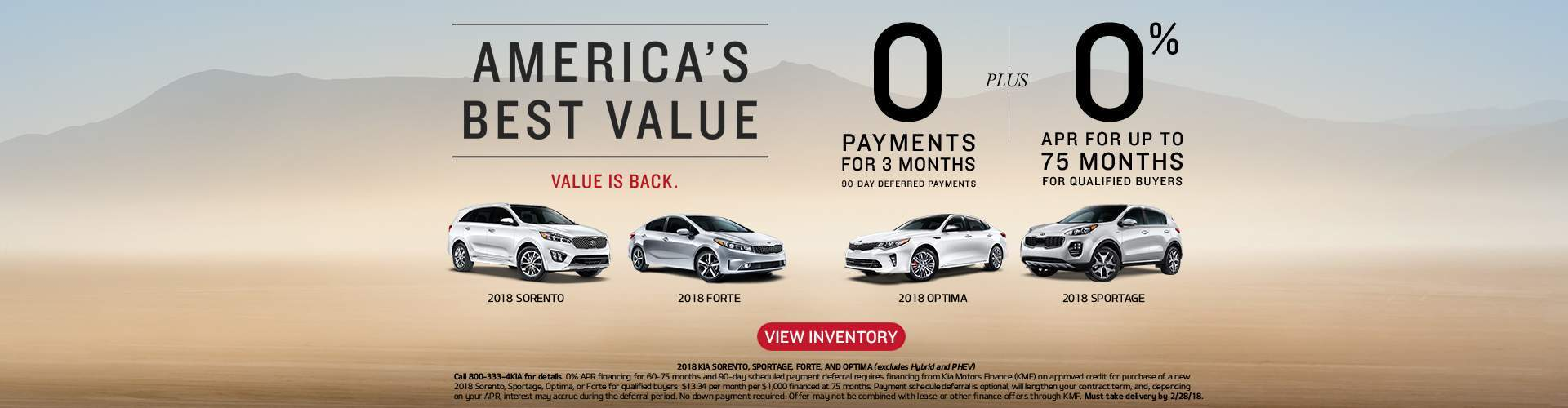 America's Best Value, Value is Back