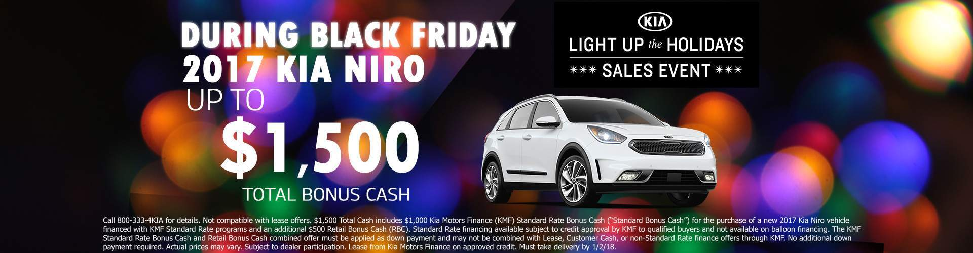 Black Friday 2017 KIA Niro