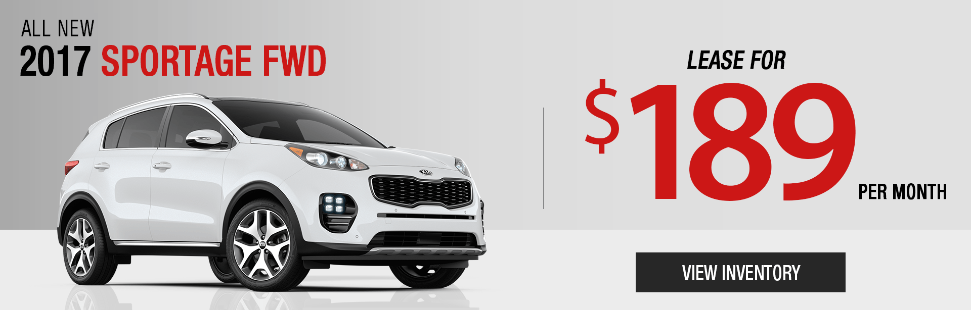 Lease 2017 Sportage