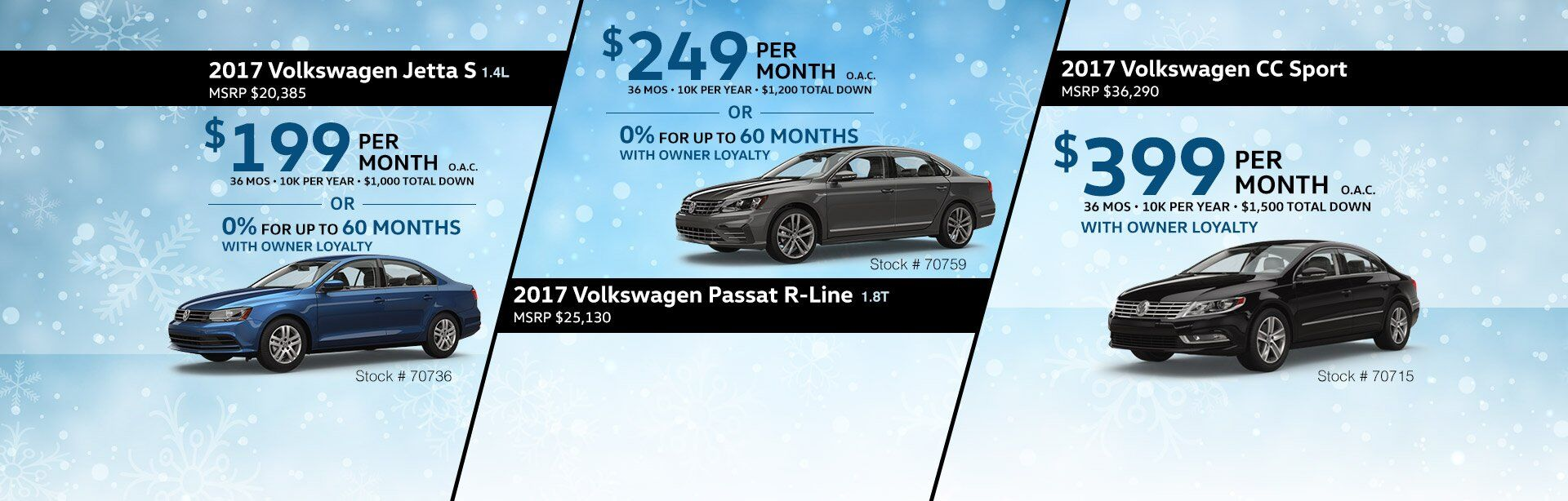 VW Lease Offers