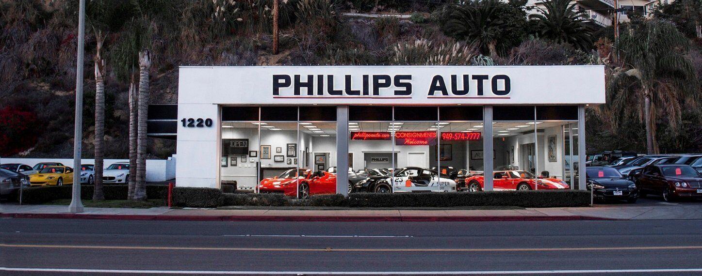 Used Car Dealership Newport Beach Ca Phillips Auto